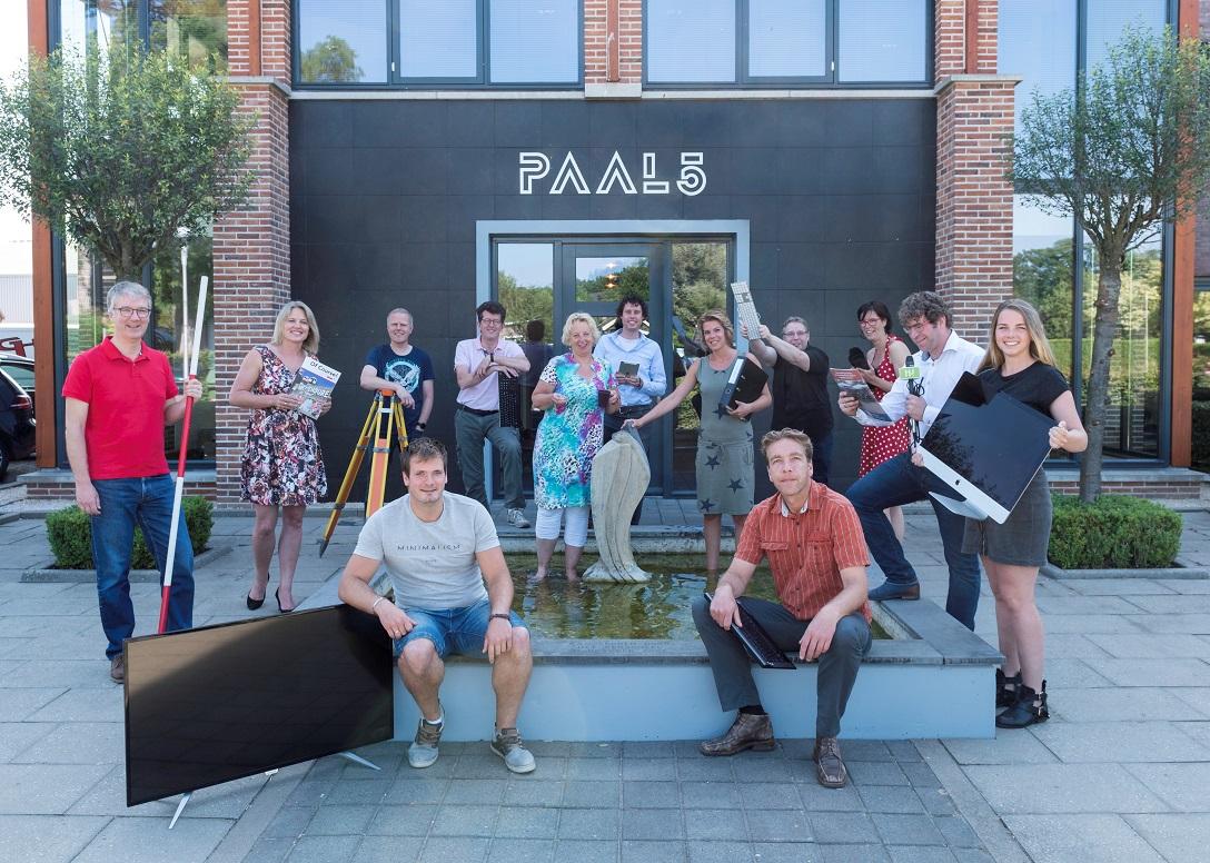 Creatieve broedplaats Paal5 officieel in gebruik